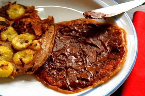 Proteinpfannkuchen mit Hanf- und Kürbiskernprotein