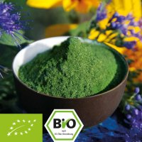 Organic Green Trio powder - barley grass - chlorella - spirulina