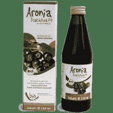 Bio Aronia Saft - 100% - 330ml Glasflasche