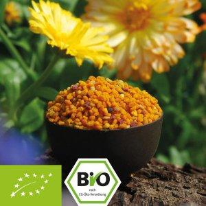 Organic flower pollen