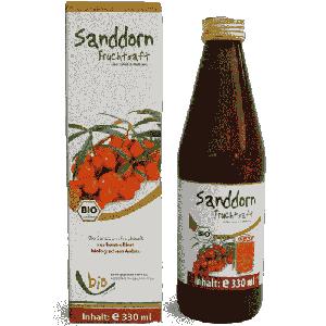 Bio-Sanddorn-Saft