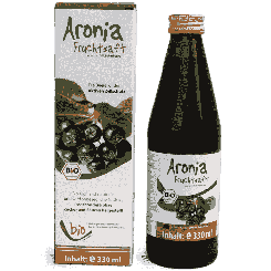 Biologisch chokebessensap - 100% - 330ml glazen flesje
