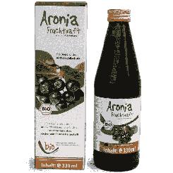 Biologisch chokebessensap - 100% - 330ml glazen flesje 330ml