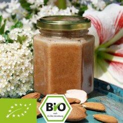 Organic honey with almond puree