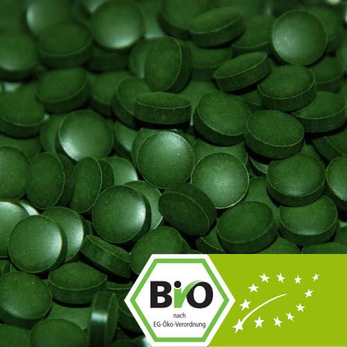 Organic Chlorella pyrenoidosa tablets