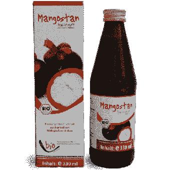 Bio Mangostan Saft - 330ml Glasflasche