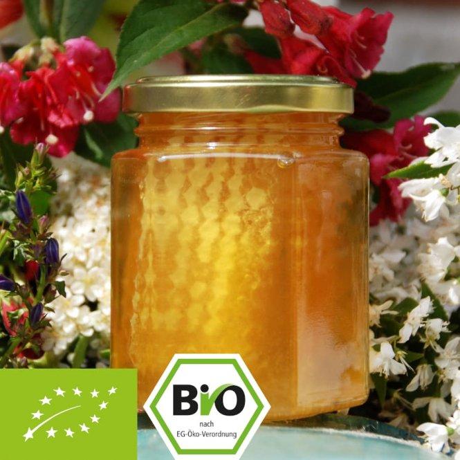 Organic comb honey