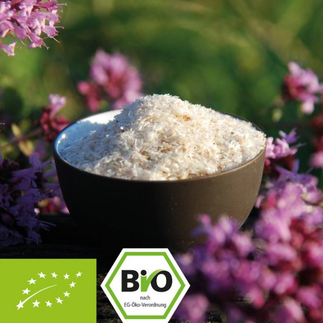 Biologische vlooienzaadschillen - 99% zuiverheid