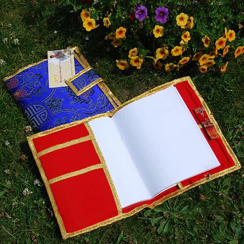boekomslag & schrijfboek, wit