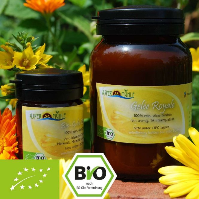 Organic Royal Jelly - 1A beekeepers quality