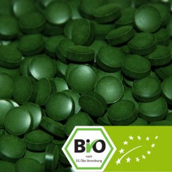 Bio Chlorella pyrenoidosa Tabletten 500g