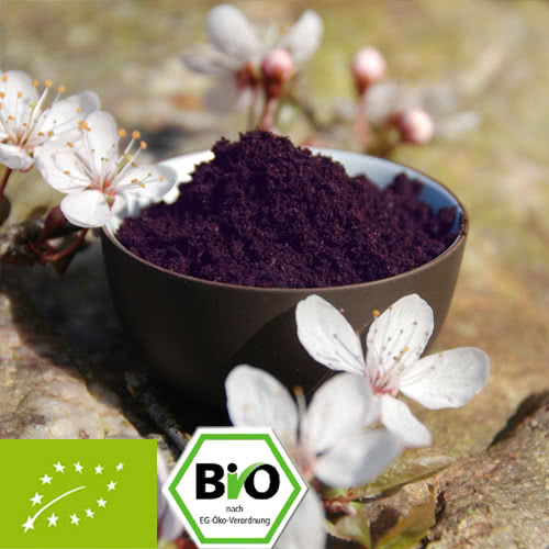 organic acai powder from wild collection