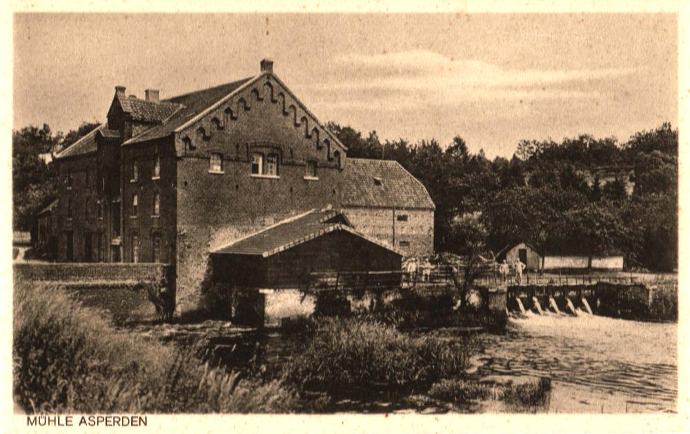 Foto Aspermühle historisch