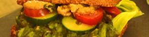 Spirulina-Kartoffel-Puffer mit Chlorella